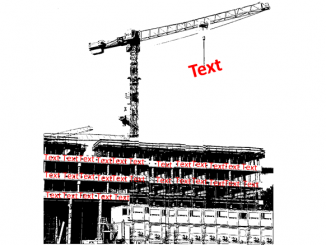 Text bauen